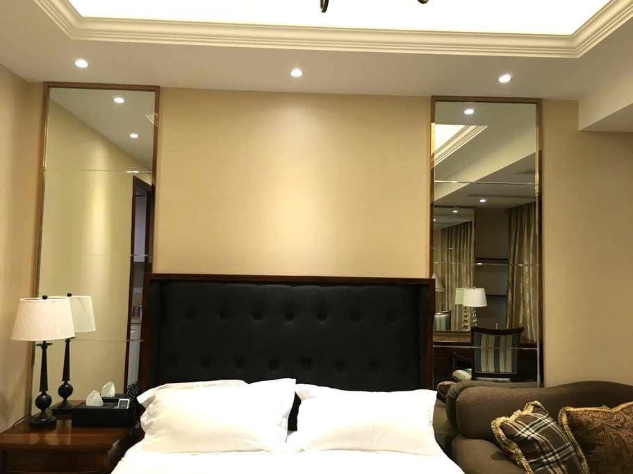 舒适美式酒店式公寓,地铁2号就在附近,到达西湖景区直线距离只需20分钟,机场只需15分钟 - Hangzhou - Pis
