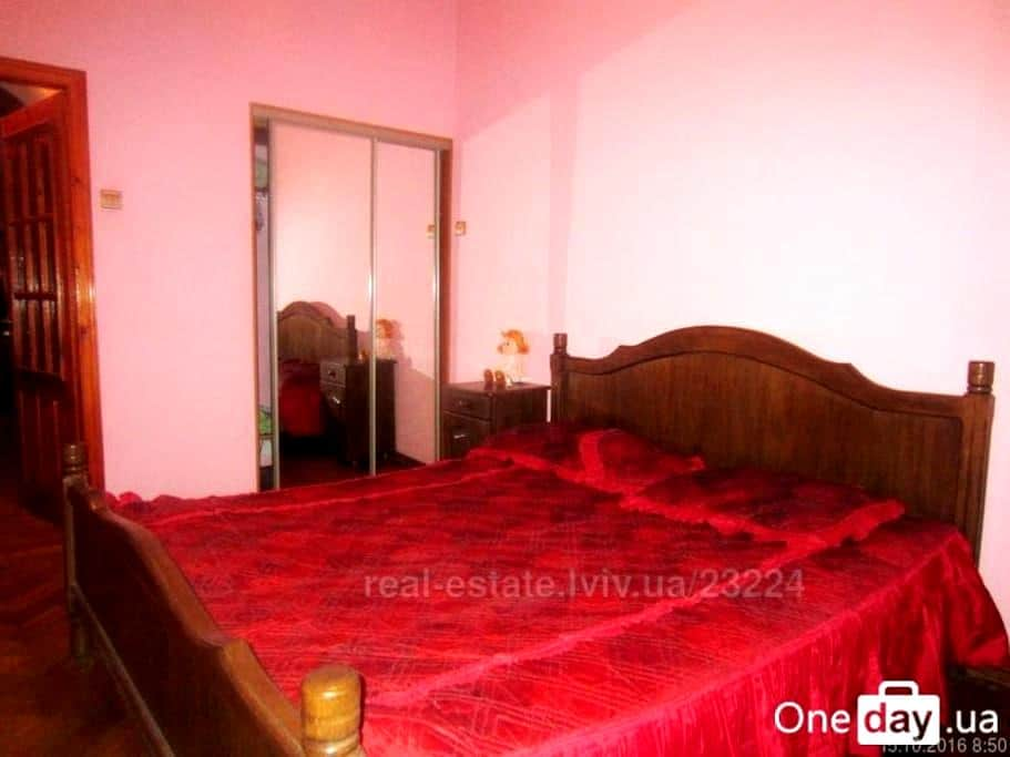 Apartment for four persons (two bedrooms) - Lviv