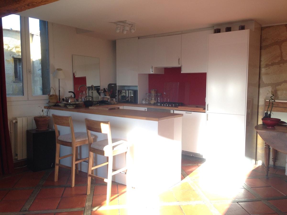 cuisine équipée / equiped kitchen