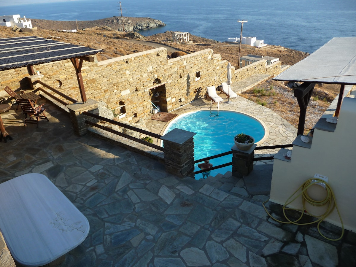Aegean View Tinos (villa with pool)