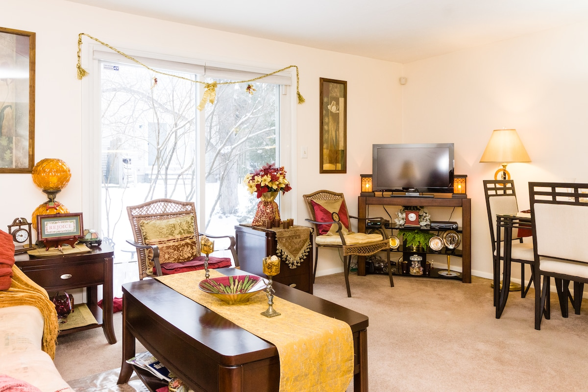 FIRST LEVEL - LIVING AND DINING ROOM COMBINATION