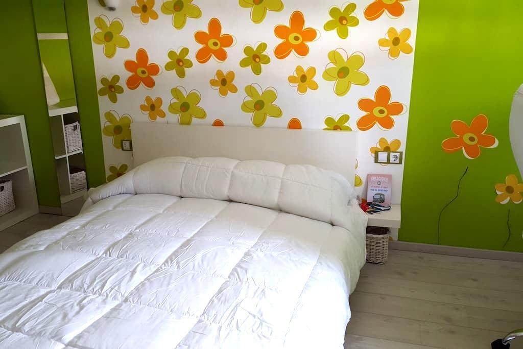 Habitación doble en apartamento moderno - Málaga - Appartement