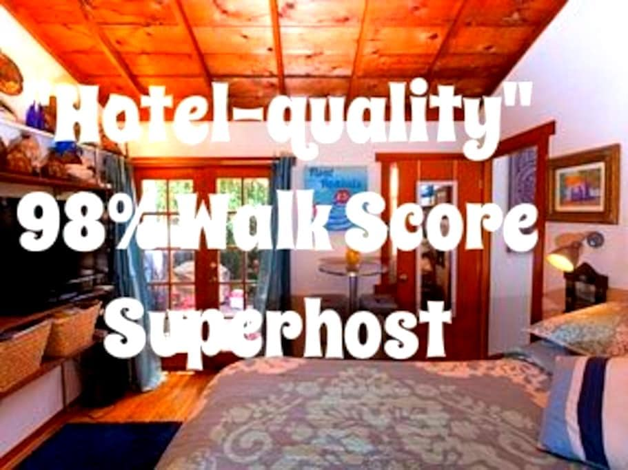 Private Bungalow in Central Weho! 98% Walk Score!! - West Hollywood - House