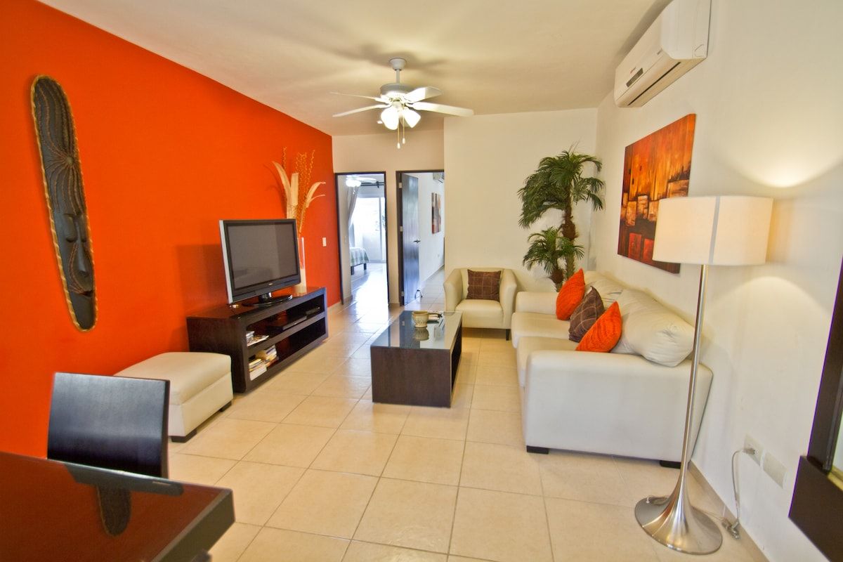 Best price two bed condo near beach