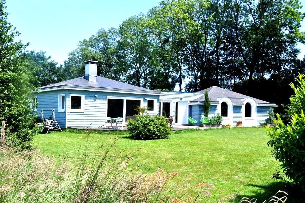 chambre double dans la maison bleue - Yvetot - Casa