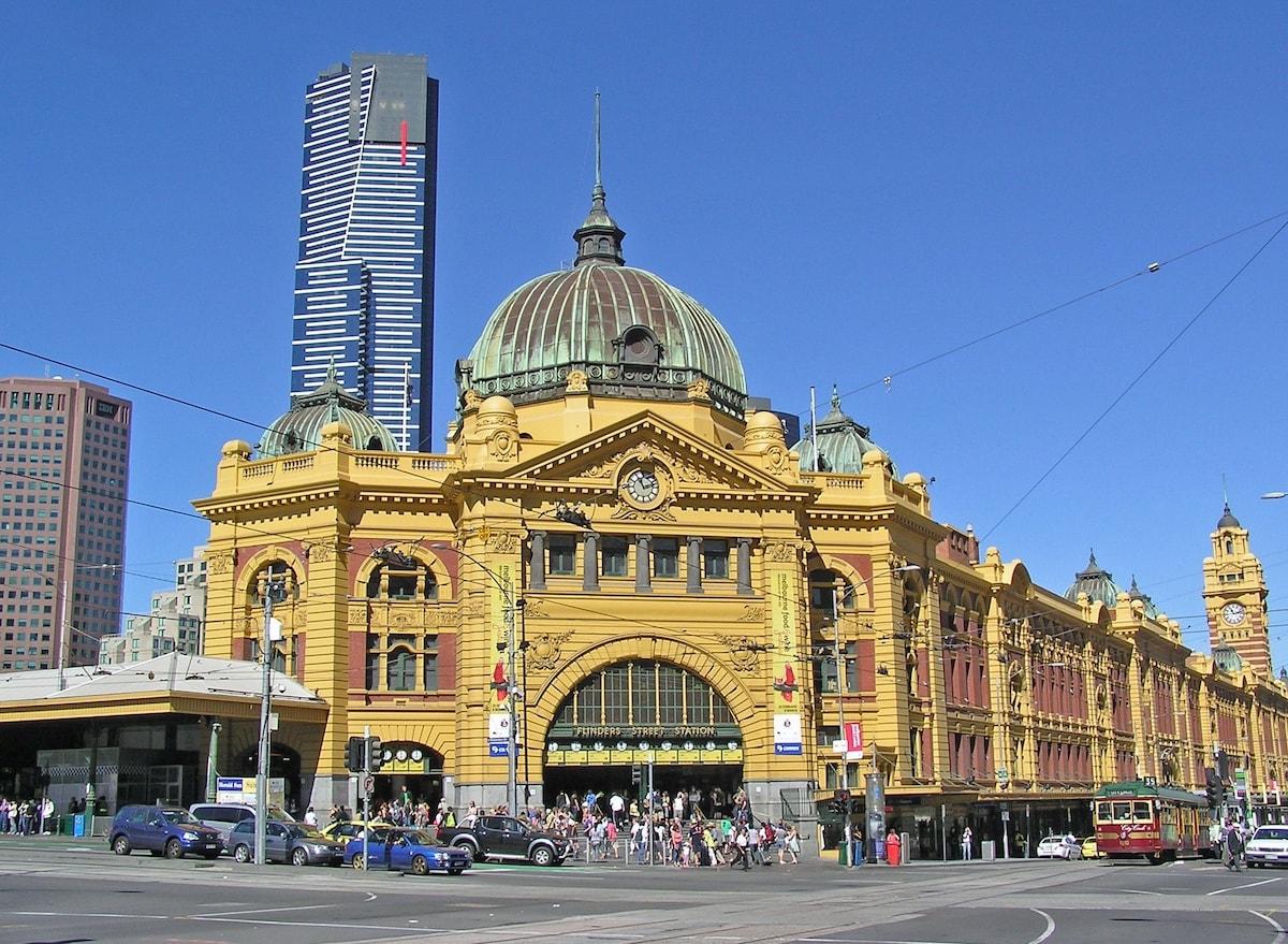 Just a few minutes walk to Flinders Street Station