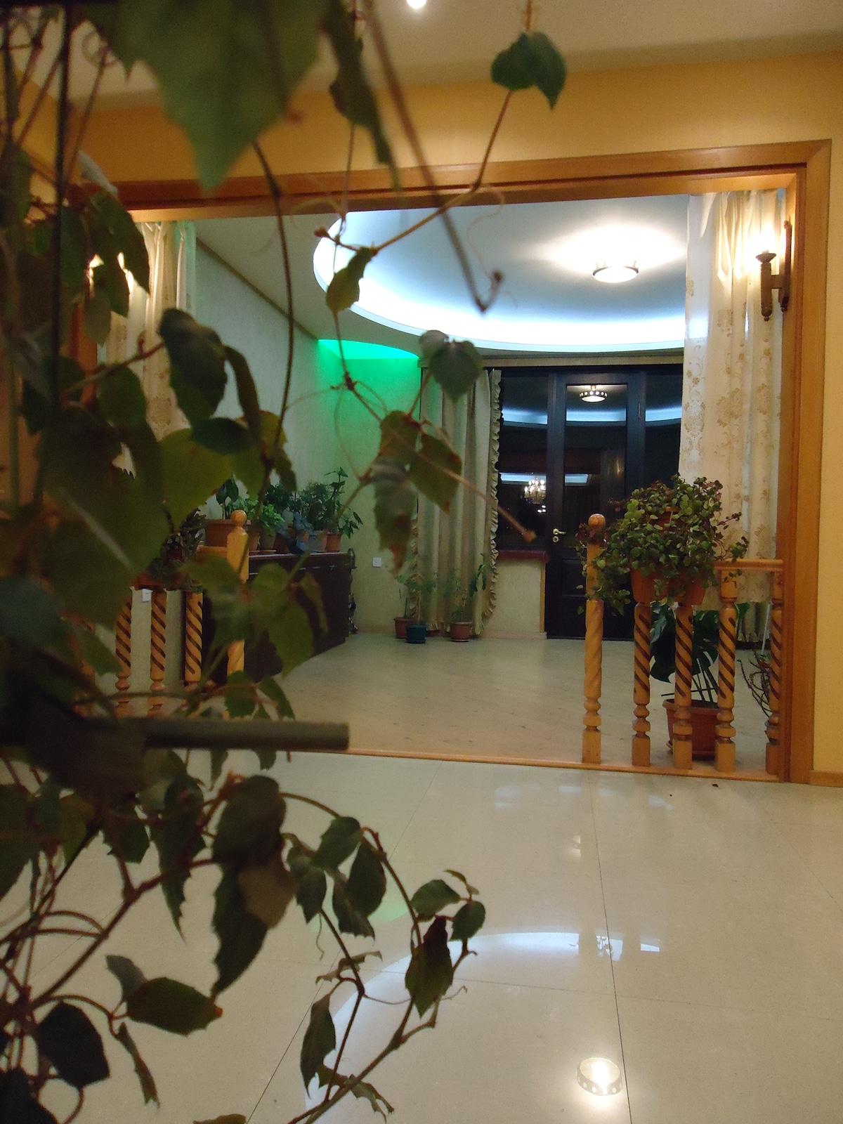 "Hostel ""Kiki"" in Tbilisi welcomes."