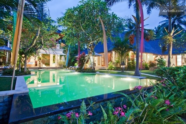 Pool with Beauty Garden