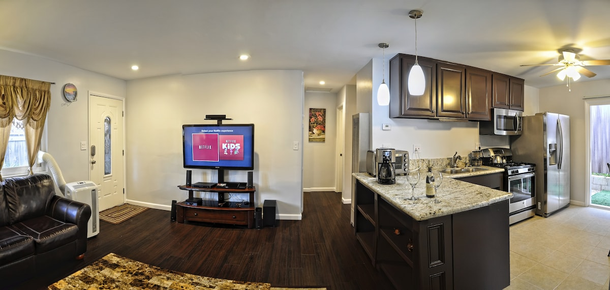 Enjoy this recently remodeled & well equipped house.