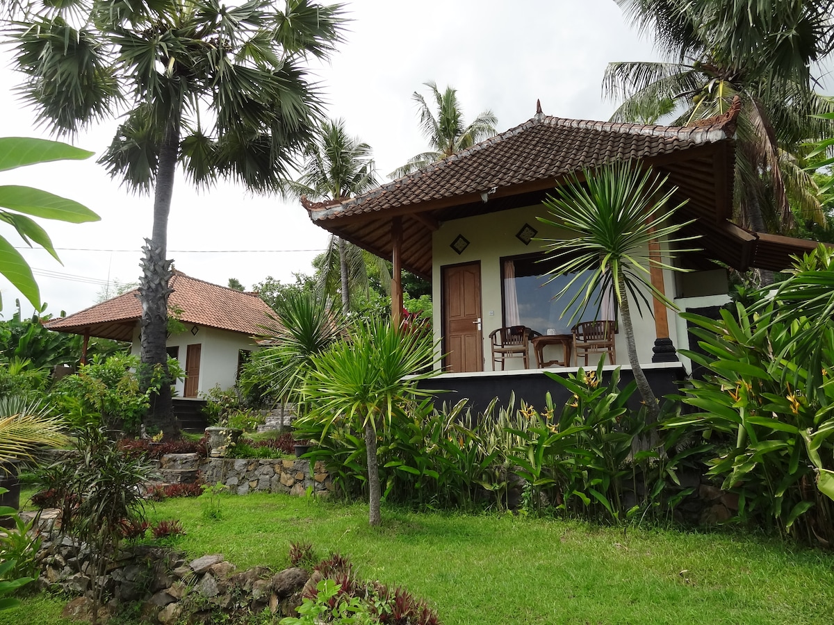 our two bungalows