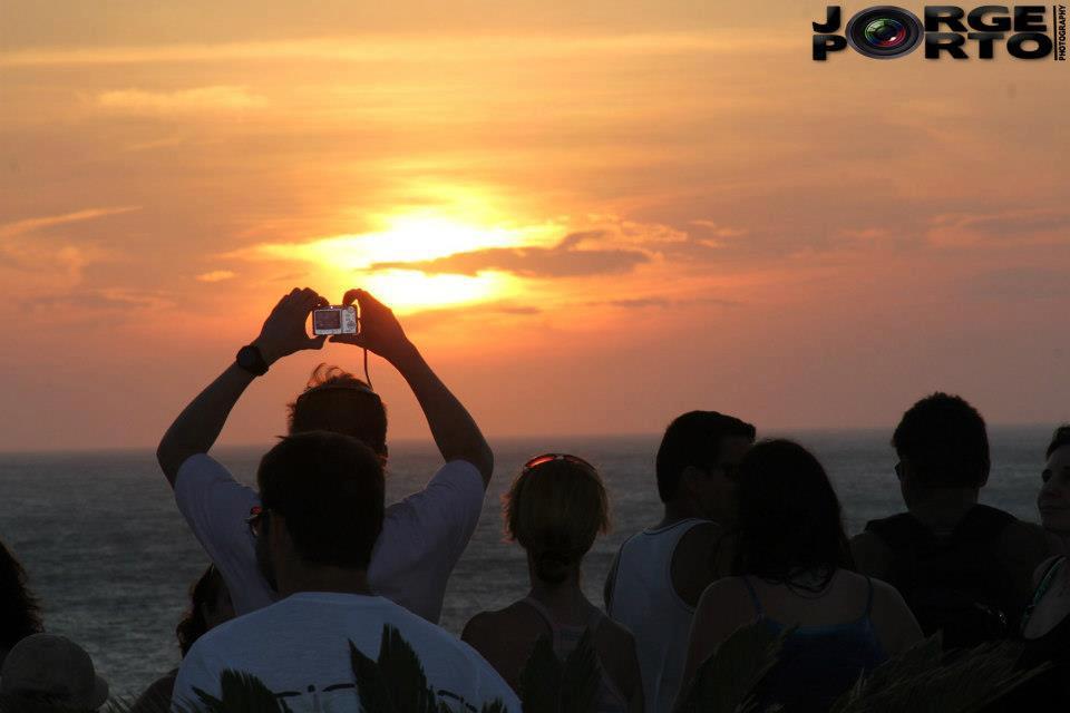 O pôr do sol mais charmoso do Brasil