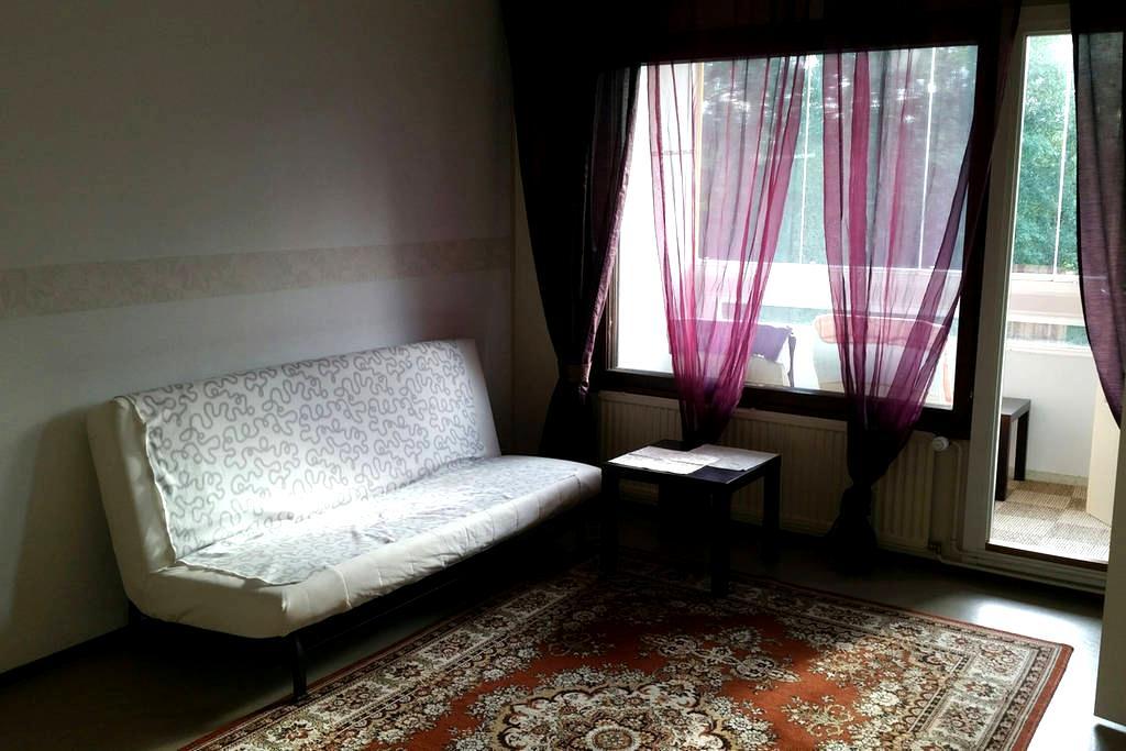 Уютная тихая квартирка с балконом - Simpele - Lägenhet
