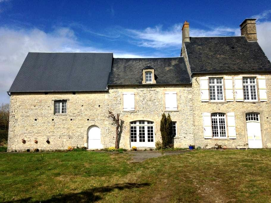 Norman Farmhouse / Tour de France - Angoville-au-Plain - Huis