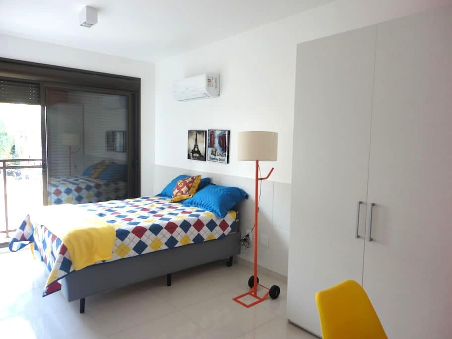 Apartamento novo mobilíado impecável 1202 - ปอร์โต อาเลเกร