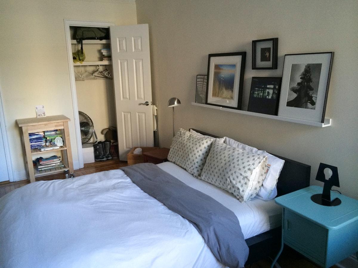 Master Bedroom, Great NYC Basecamp