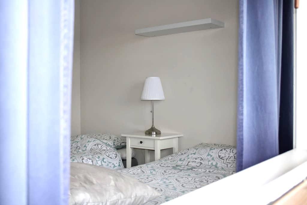 Leilighet med 4 sengeplasser nær Leirvik sentrum - Stord - Apartment