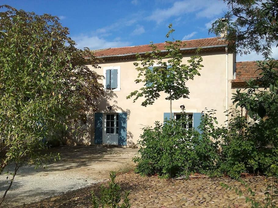 Mas provençal de charme dans le Luberon - Maubec - Casa