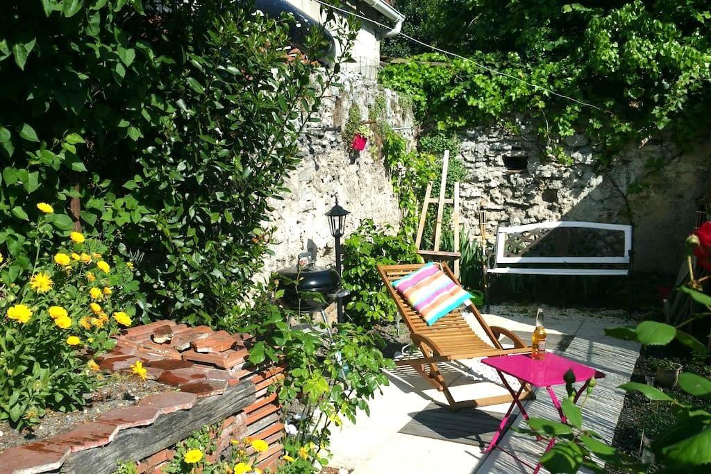 Bel appart' +jardin, 100m RER, 40m2 - ロニー=スー=ボワ - アパート