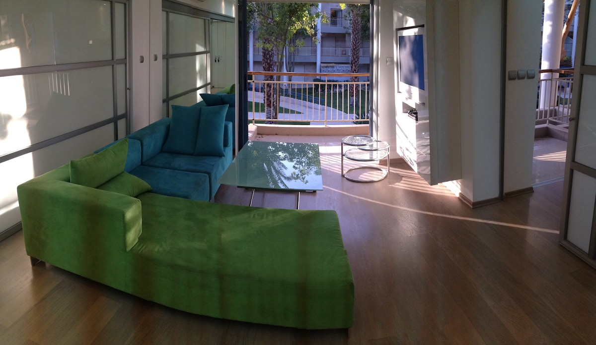 Living Room - panoramic