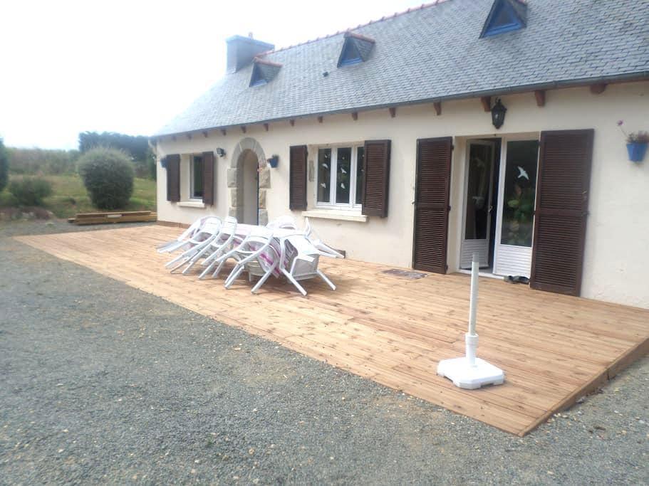 maison au calme pour les amoureux de la nature - Pommerit-Jaudy - Casa