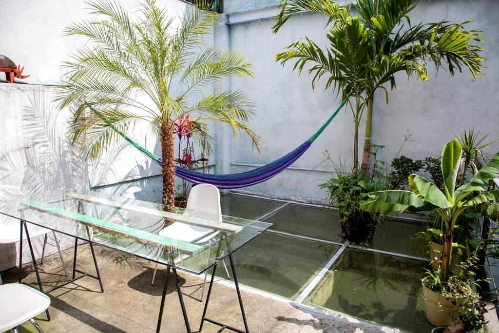 Sunny Terrace, heart of Condesa! - Mexiko-Stadt - Haus