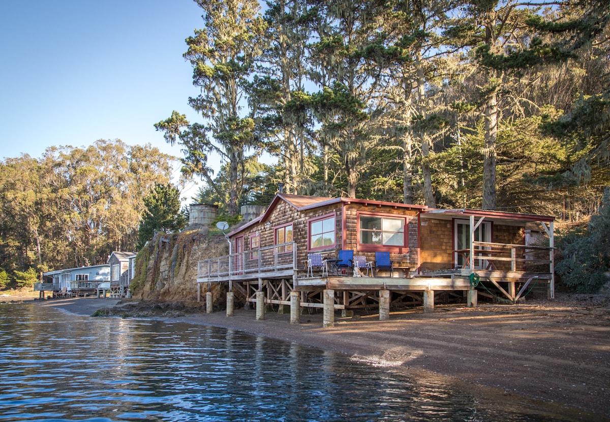 High Tide Beach Cabin.