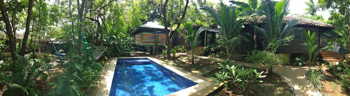 Casa Tranquila poolside bungalow