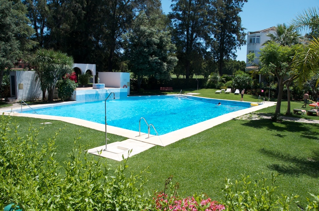 Large house with communal pool