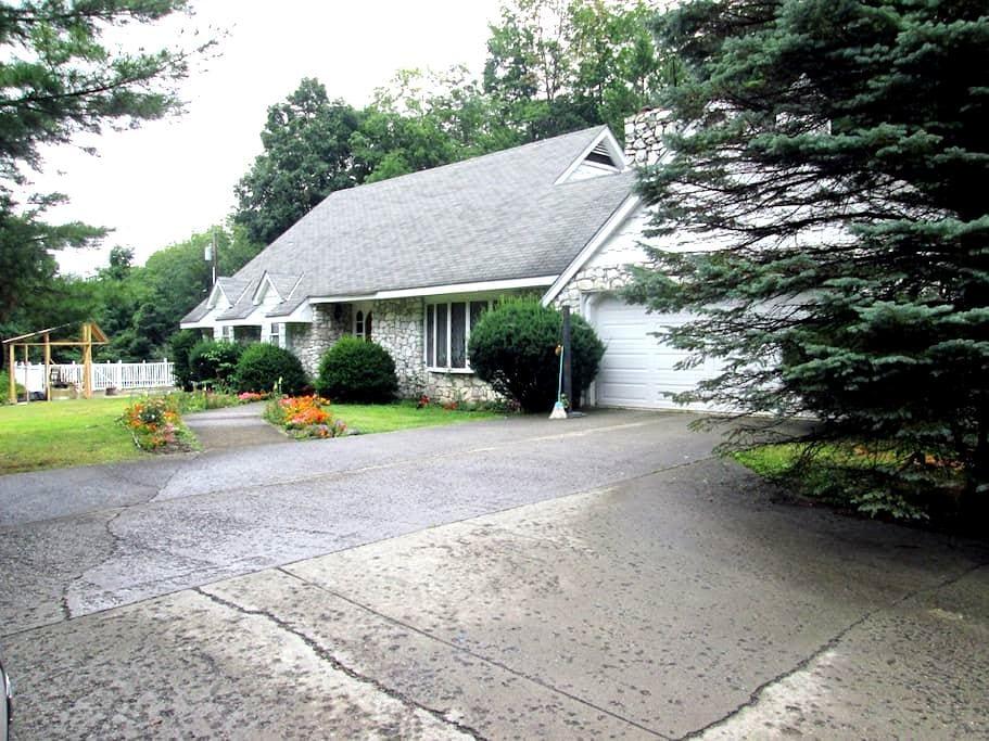 Catskills, NY B$B Getaway rental - แบร์สวิลล์ - บ้าน