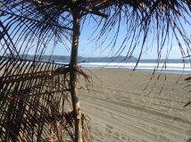 Rancho at beach for shade and view of Manuel Antonio