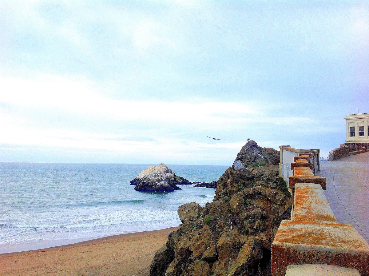 welcome to the Beach Retreat with incredible access to the coast