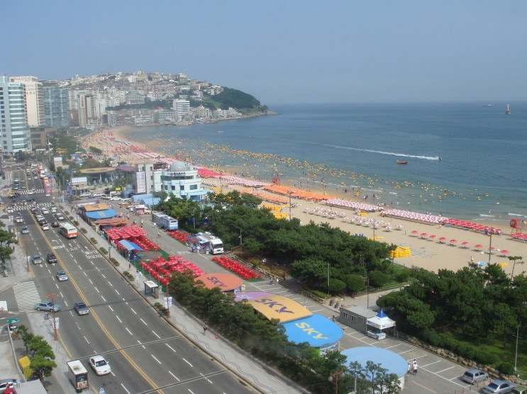 Hae Un Dae  Beach view from Roof top