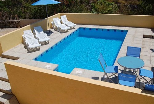 Exclusive use of the pool