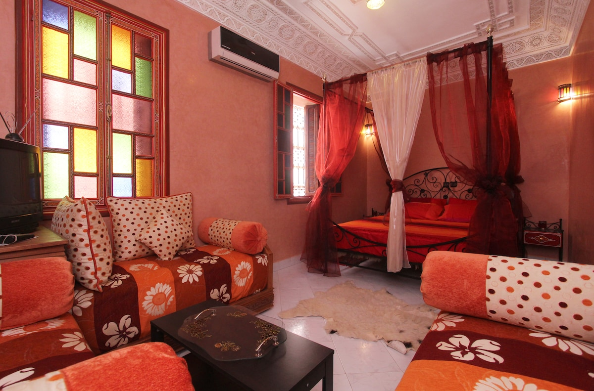Riad For S, in the medina