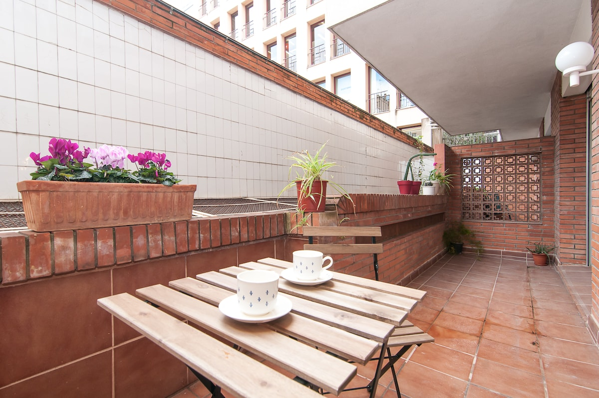 Enjoy Breakfast on your private terrace!