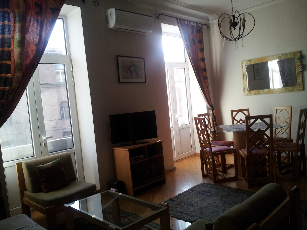 Sunny Apartment in Central Yerevan