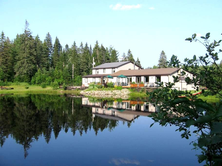 Auberge au Phil de l'Eau : Mésange - Sainte-Marguerite-du-Lac-Masson - Bed & Breakfast