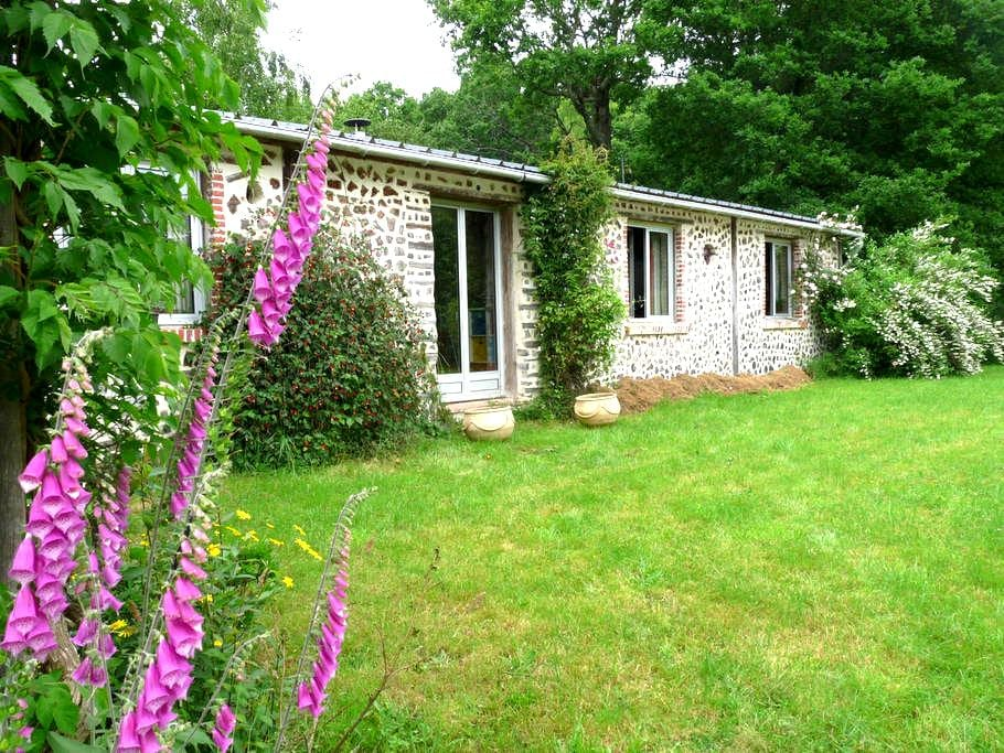 Eco-friendly house in Normandy - Jullouville - Talo