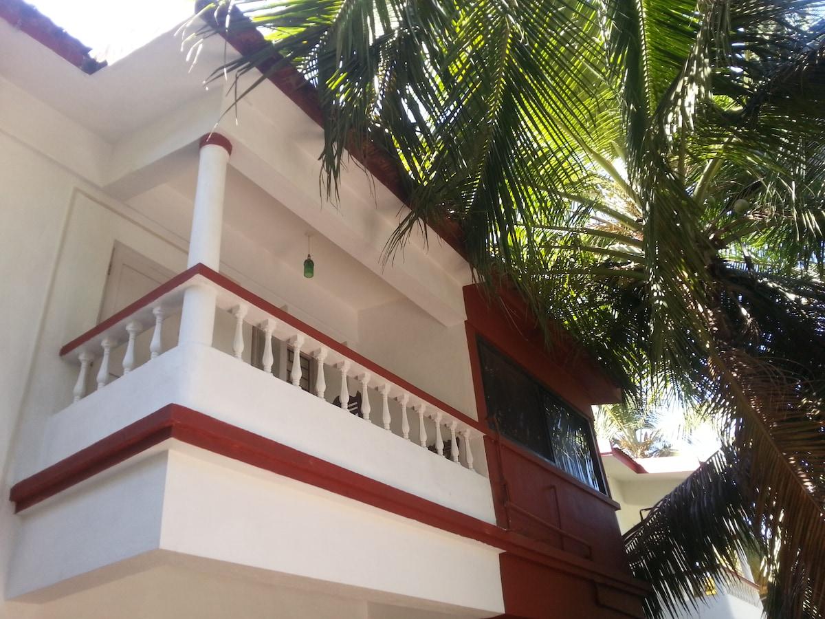 The back balcony