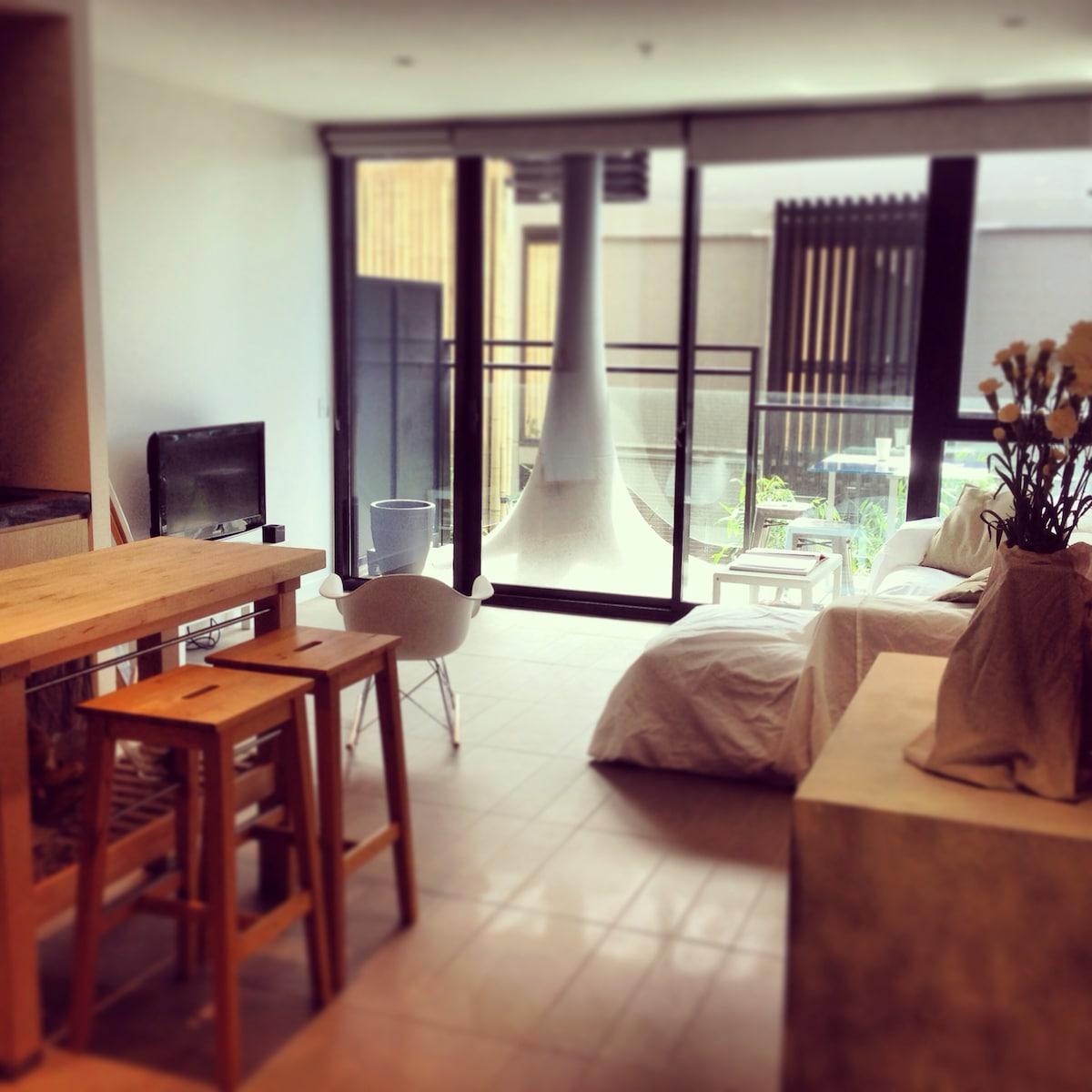 West Melbourne boutique apartment