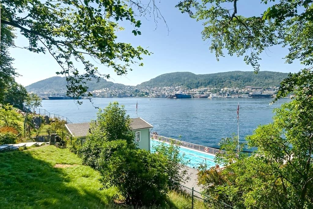 Central and functional 1BR Apartment - Bergen - Appartement