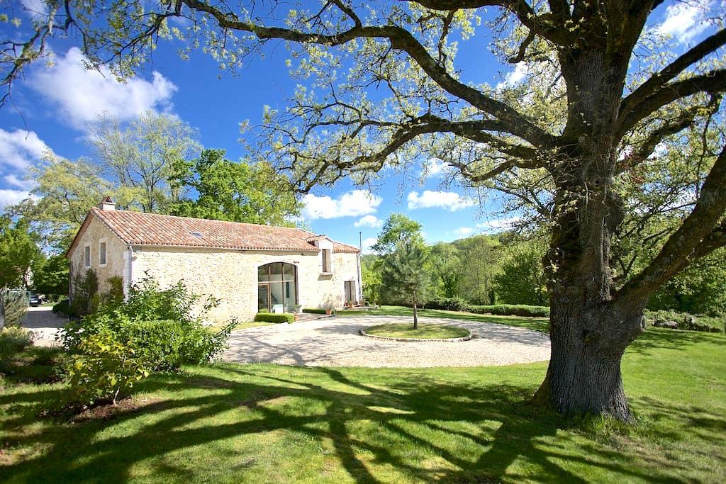 Stunning Contemporary Conversion - Saint-Cernin-de-Labarde - Dům
