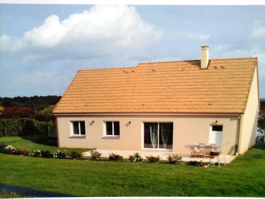 Maison neuve en campagne à 30 km du mans - Pontvallain - Hus