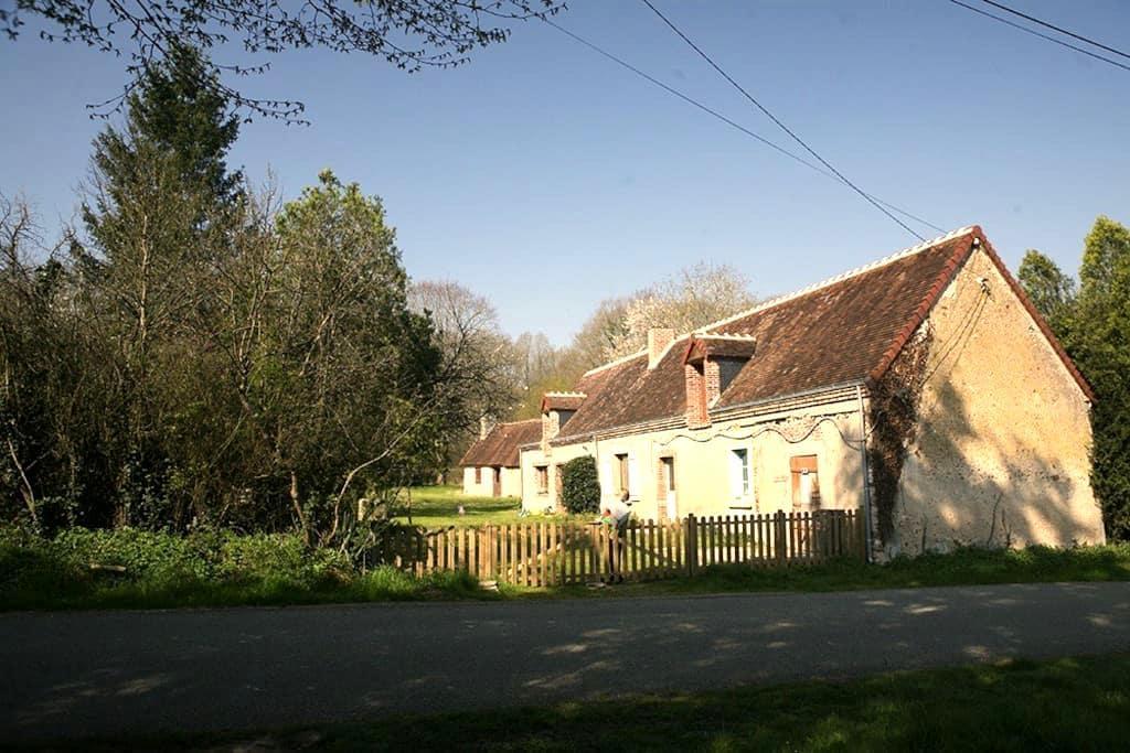 À l'orée du bois maison de campagne - Saint-Jean-Froidmentel - Rumah
