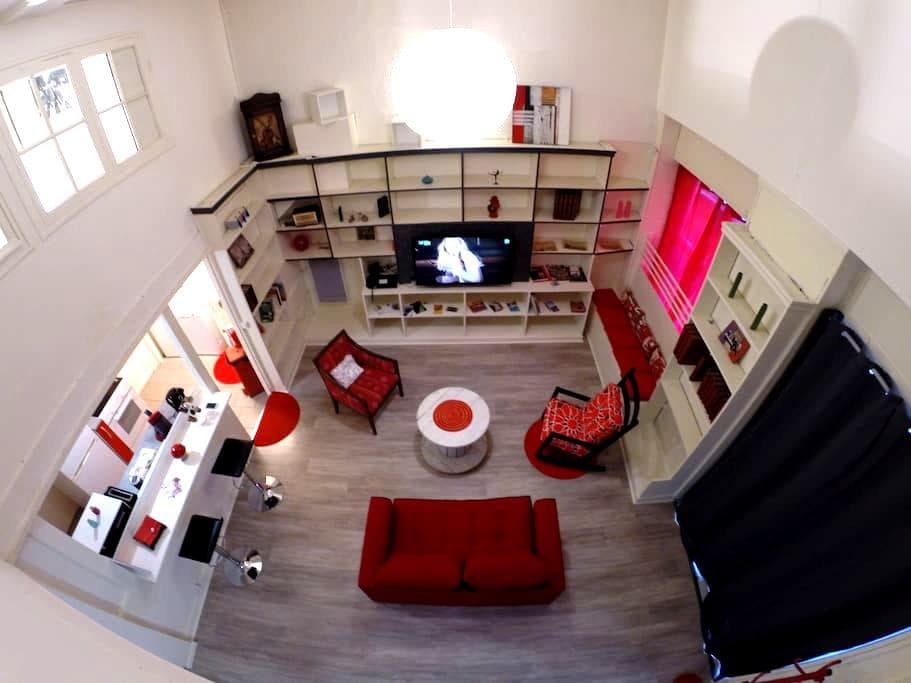 L'Odyssée un loft cosy hyper centre - Saint-Étienne - Loft