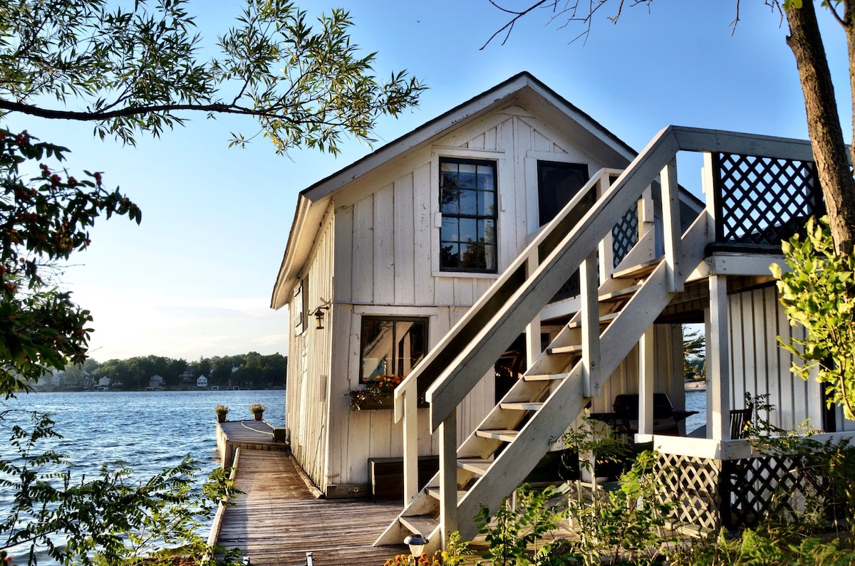 Island Boat House Bed and Breakfast - Islands for Rent in Clayton ...