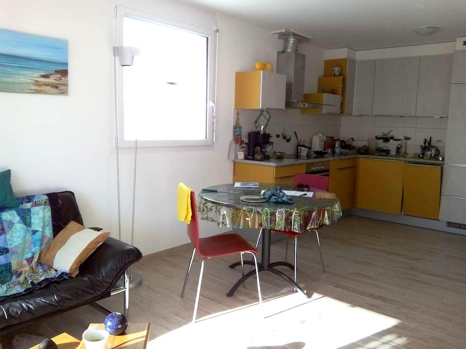 2 pièces 40 m2 dans immeuble neuf - Conthey - Apartment