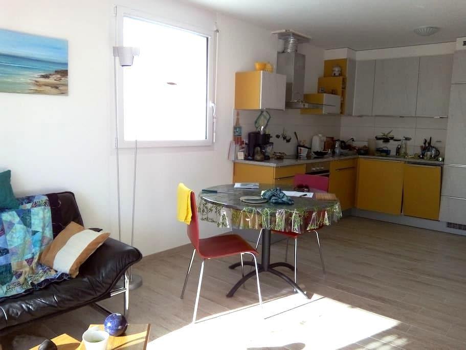 2 pièces 40 m2 dans immeuble neuf - Conthey - 公寓