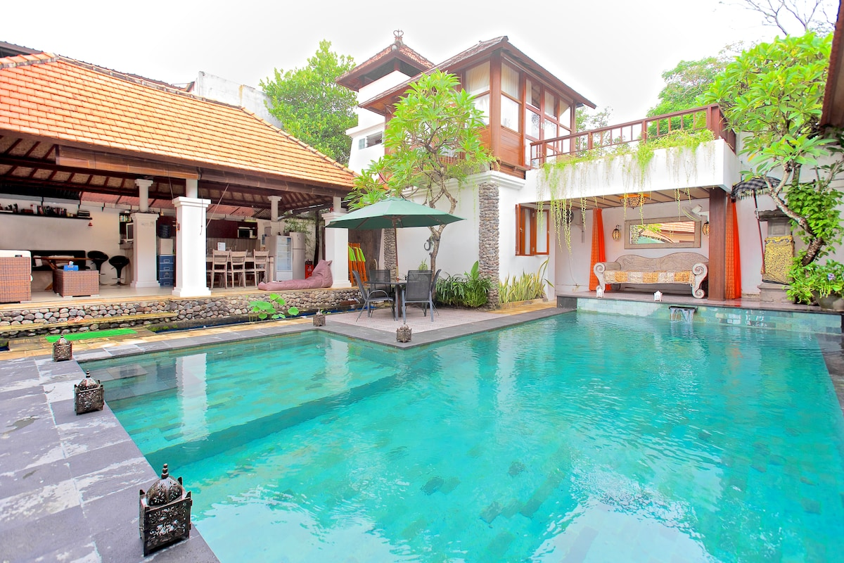 Villa room for family for max 5pers