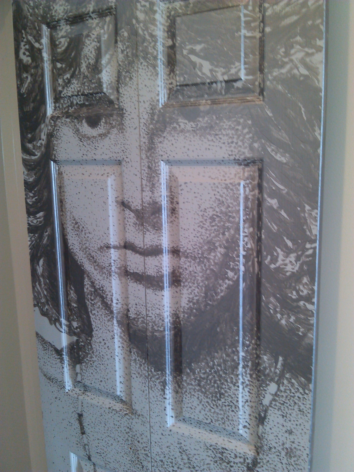 Jim bedroom door